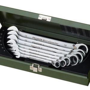 23124 Set di 7 chiavi a cricco MicroSpeeder Misure: 10 – 19 mm Proxxon ( SPEDIZIONE GRATIS )